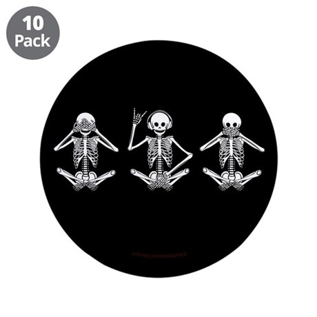 Hear No Evil? 3.5&quot; Button (10 pack)