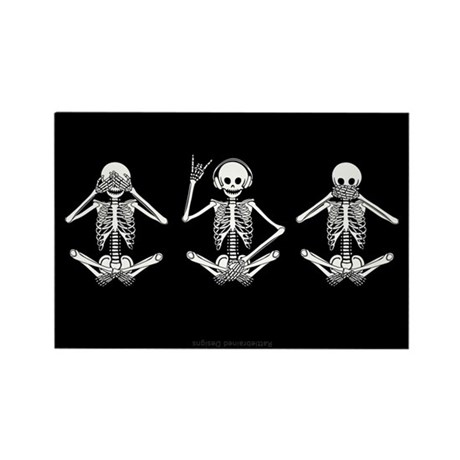 Hear No Evil? Rectangle Magnet (100 pack)