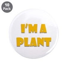 "Plant 3.5"" Button (10 Pack)"