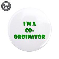 """Coordinator 3.5"""" Button (10 Pack)"""
