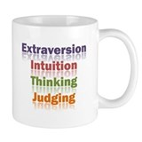 ENTJ Word Coffee Mug