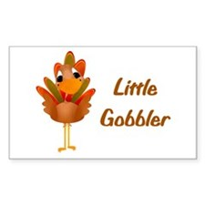 Little Gobbler Rectangle Decal