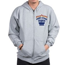 Eight Crazy Nights - Zip Hoodie