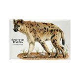 Spotted Hyena Rectangle Magnet