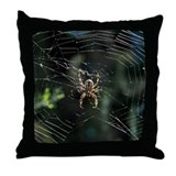 Western Orb Weaver Throw Pillow