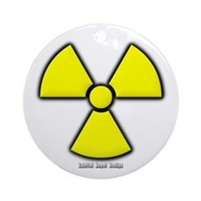 Radioactivity Ornament (Round)