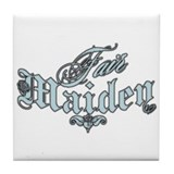 Fair Maiden Tile Coaster