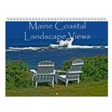 Maine Coastal Landscape Views calendar