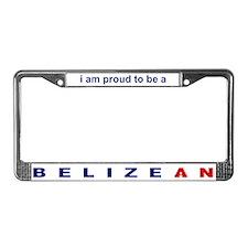 Belizean License Plate Frame