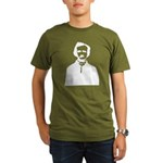 Edgar Allan Poe Organic Men's T-Shirt (dark)
