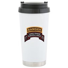 10th MTN LRS Scroll with Rang Ceramic Travel Mug