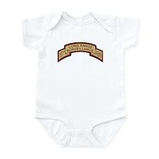 101st Airborne LRS Scroll, Ds Infant Bodysuit