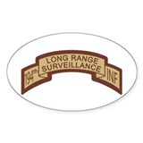 194th Infantry LRS Scroll, De Oval Decal
