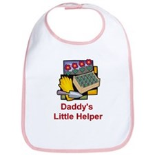 Daddy's Little Helper (Garden) Bib