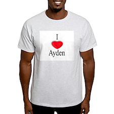 Ayden Ash Grey T-Shirt