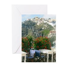 Santorini cards pk of 10