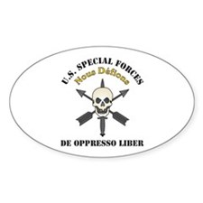 Nous Defions U.S. Special For Oval Decal