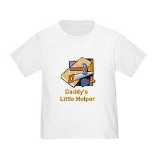 Daddy's Little Helper (Carpenter) Toddler T-shirt