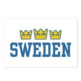 Sweden Postcards (Package of 8)