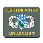 506th Infantry Regiment Mouse Pad