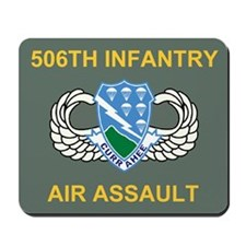 506th Infantry Regiment Mouse Pad