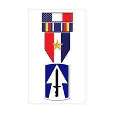 76th INF GWOT Service Rectangle Decal