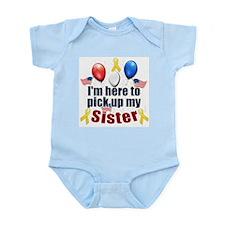 Pick up my Sister Onesie