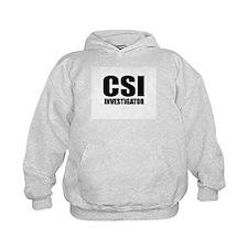 CSI Investigator/Forensics back Hoodie