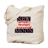 New Moon Twilight Vampire Tote Bag
