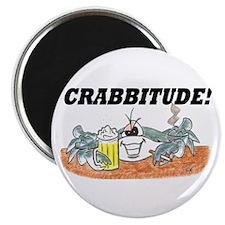 "crabbbitude 2.25"" Magnet (100 pack)"
