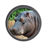 Hippo Two Wall Clock