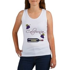 California Wine Women's Tank Top
