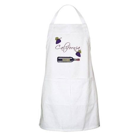 California Wine BBQ Apron