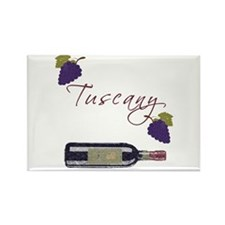 Tuscany Rectangle Magnet