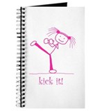 kick it! (pink) Journal