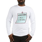 Homeschool Schedule Long Sleeve T-Shirt