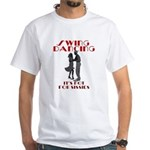 Swing Dancing White T-Shirt