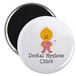 Dental Hygiene Chick Magnet