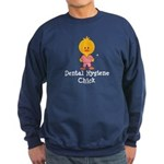 Dental Hygiene Chick Sweatshirt (dark)