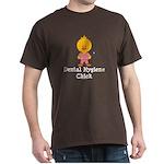 Dental Hygiene Chick Dark T-Shirt
