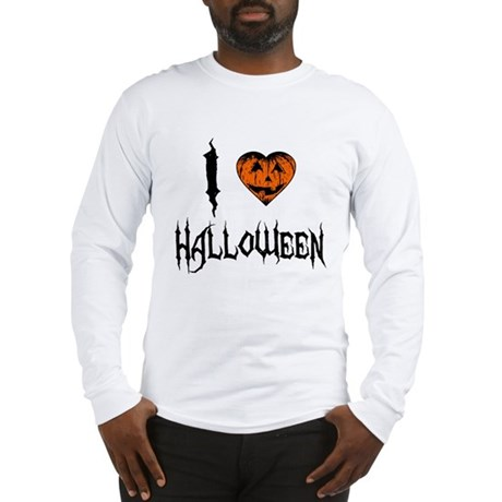 I Love Halloween Long Sleeve T-Shirt