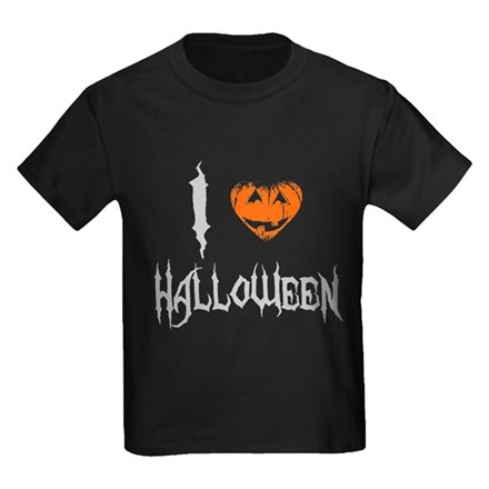 I Love Halloween Kids T-Shirt