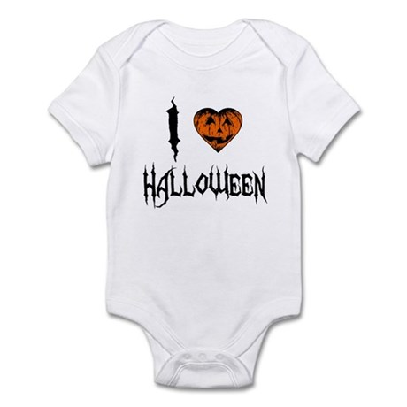 I Love Halloween Infant Bodysuit