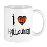 I Love Halloween Mug