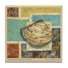 Coastal Dreams Shell Tile Coaster
