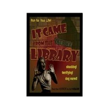 Came from the Library Rectangle Magnet (10 pack)