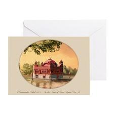 Harimandir Sahib 1604 Blank Greeting Card