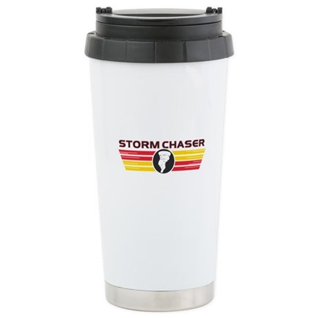 Storm Chasers Logo Bar Ceramic Travel Mug