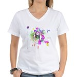 How we see space Women's V-Neck T-Shirt