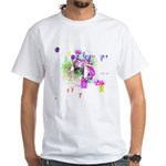 How we see space White T-Shirt